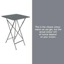 Bistro Tall Table - Storm Grey