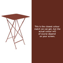 Bistro Tall Table - Red Ochre