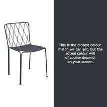 Kintbury Dining Chair - Anthracite