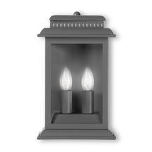 Outdoor Belvedere Wall Lantern - Charcoal