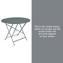 Floreal 96cm Round Table - Storm Grey