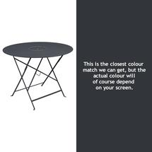 Floreal 96cm Round Table - Anthracite