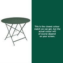 Floreal 96cm Round Table - Cedar Green