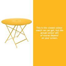 Floreal 96cm Round Table - Honey