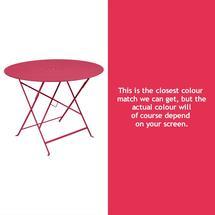Floreal 96cm Round Table - Pink Praline