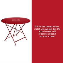 Floreal 96cm Round Table - Poppy
