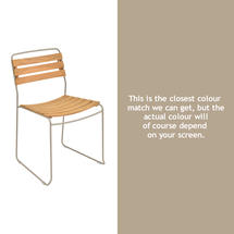 Surprising Teak Chair - Nutmeg