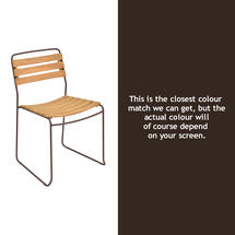Surprising Teak Chair - Russet