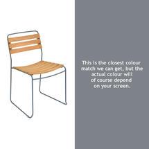 Surprising Teak Chair - Storm Grey