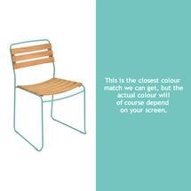 Surprising Teak Chair - Lagoon Blue