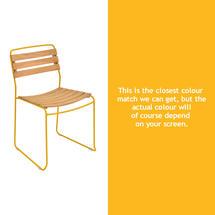 Surprising Teak Chair - Honey