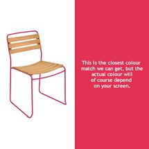 Surprising Teak Chair - Pink Praline