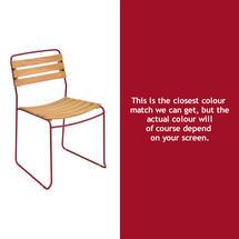 Surprising Teak Chair - Chilli