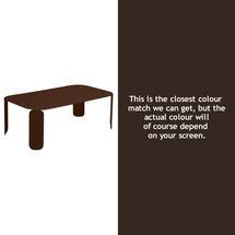 Bebop Rectangular Table - 42cm high- Russet