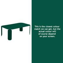 Bebop Rectangular Table - 42cm high - Cedar Green