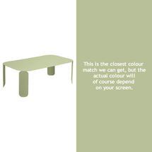 Bebop Rectangular Table - 42cm high - Willow Green