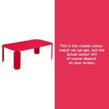 Bebop Rectangular Table - 42cm high - Pink Praline