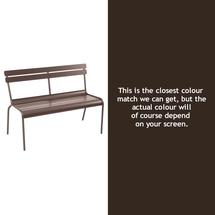 Luxembourg Bench - Russet