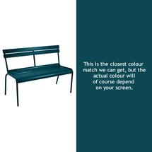Luxembourg Bench - Acapulco Blue