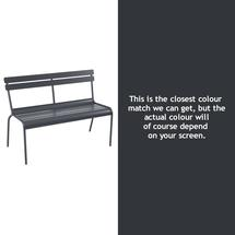 Luxembourg Bench - Anthracite