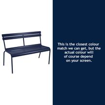 Luxembourg Bench - Deep Blue