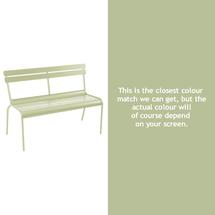 Luxembourg Bench - Willow Green