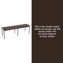 Luxembourg Backless Bench - Russet