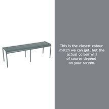 Luxembourg Backless Bench - Storm Grey