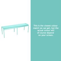 Luxembourg Backless Bench - Lagoon Blue