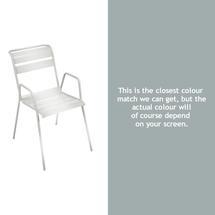 Monceau Armchair - Steel Grey