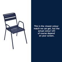 Monceau Armchair - Deep Blue
