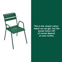 Monceau Armchair - Cedar Green