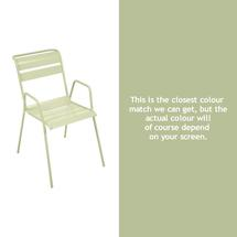 Monceau Armchair - Willow Green