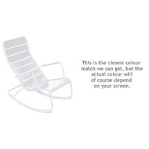 Luxembourg Rocking Chair - Cotton White