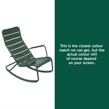 Luxembourg Rocking Chair - Cedar Green