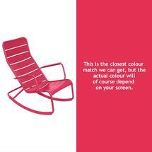Luxembourg Rocking Chair - Pink Praline