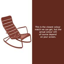 Luxembourg Rocking Chair - Red Ochre