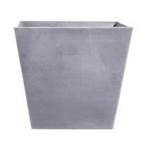 Eco Planter - Concrete Grey Tapered Square 50cm