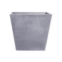 Eco Planter - Concrete Grey Tapered Square 40cm