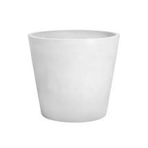 Eco Planter - White-grey Conical 40cm