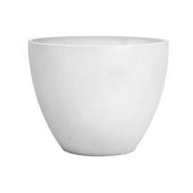 Eco Planter - White-grey Round 40cm