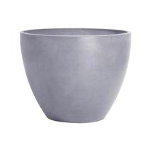 Eco Planter - Concrete Grey Round 40cm