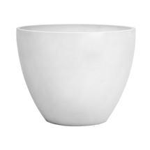 Eco Planter - White-grey Round 50cm