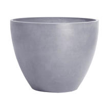 Eco Planter - Concrete Grey Round 50cm