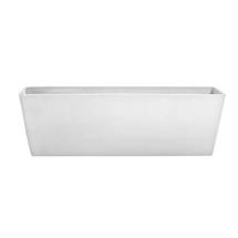 Eco Planter - White-grey Balcony Trough