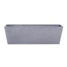 Eco Planter - Concrete Grey Balcony Trough