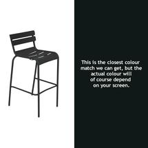 Luxembourg High Chair - Liquorice