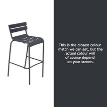 Luxembourg High Chair - Anthracite