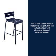Luxembourg High Chair - Deep Blue