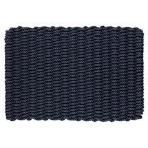 Outdoor Rope Doormat - Dark Navy